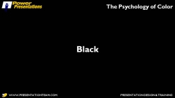 The Psychology Of Color In Powerpoint Presentations