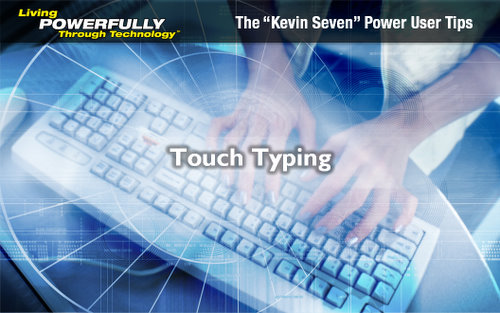 Tackling Touch Typing to Improve Efficiency